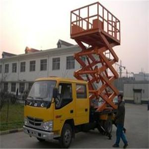 车载剪叉式升降平台
