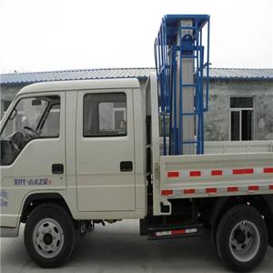 河北车载铝合金升降平台车载式铝合金升降机